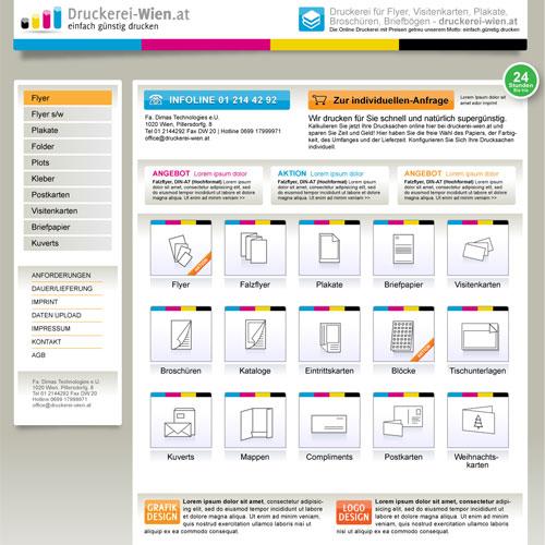 Webprojekte webdesign beispiele kundenprojekte for Grafik design praktikum wien