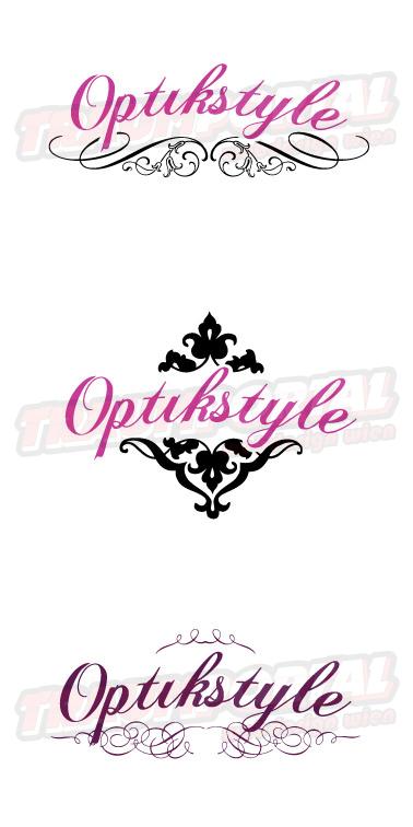 Optik Style Logos
