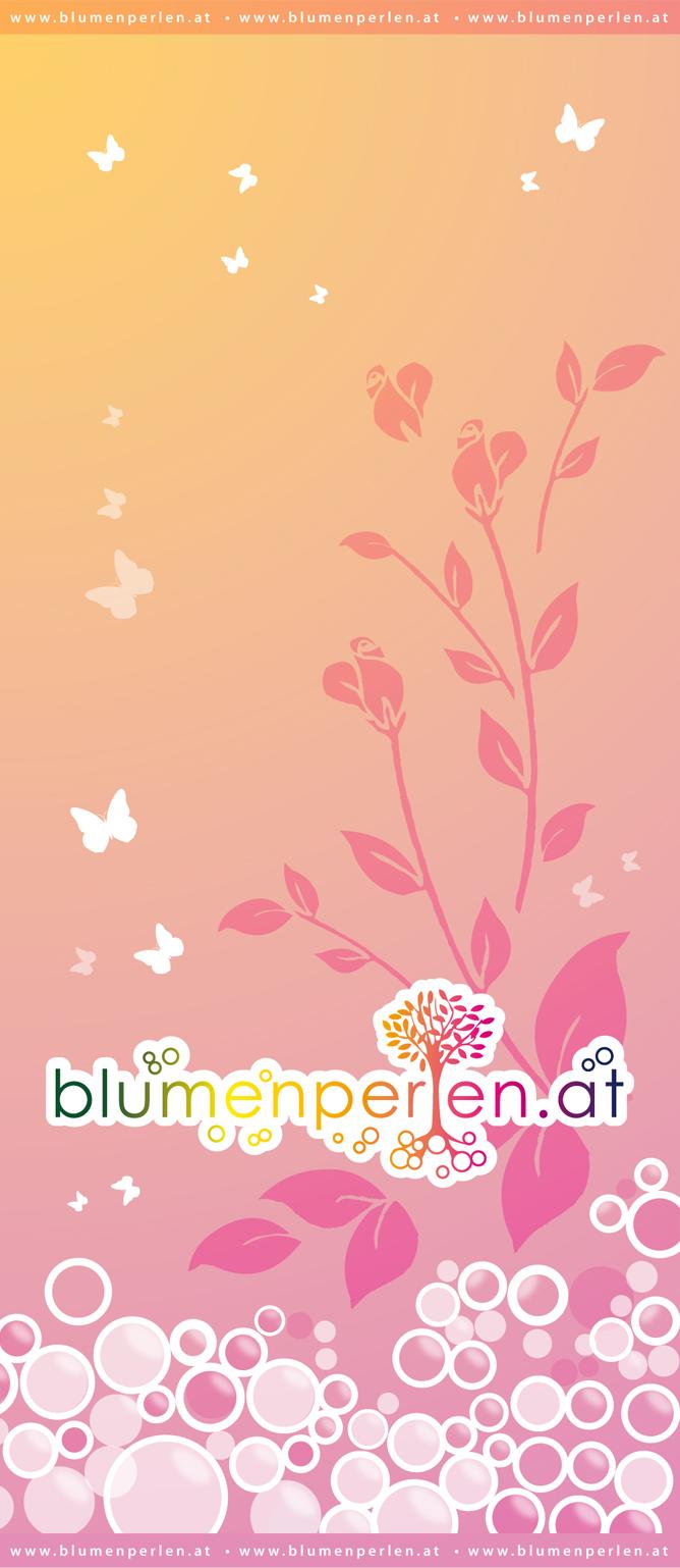 Rollup Blumenperlen