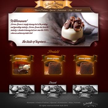 Schokoladen Webseiten