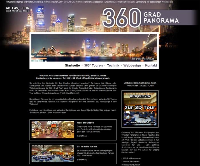webseite 360 Grad