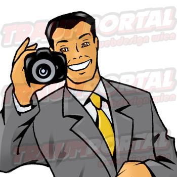 Geschäftsmann Fotograf