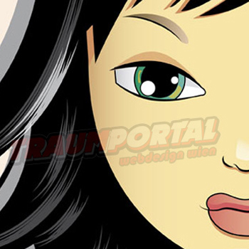 Characterdesign einer Frau