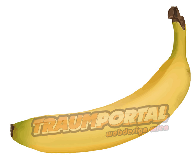 Banane Illustration Bananen