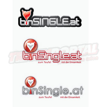 BinSingle.at Logo Design