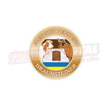 Rinderzucht Braunsteiner Logodesign