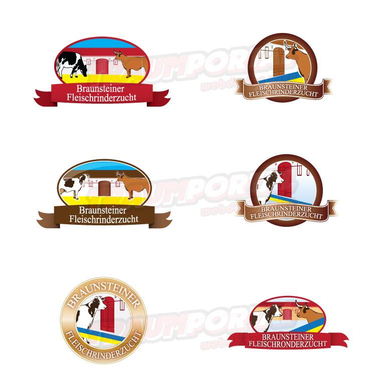 Logodesign Rinderzucht