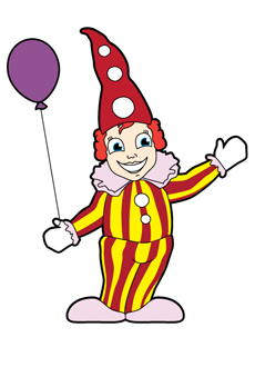 Clown Prater Ballon
