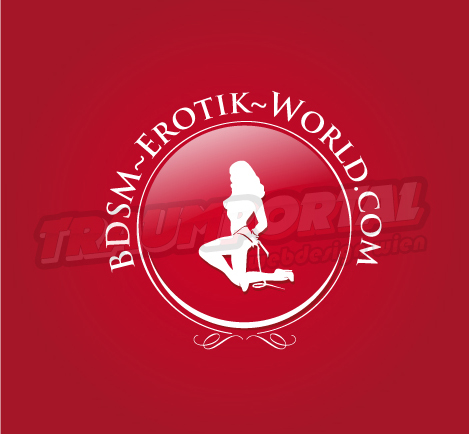 Logo BDSM Rot kreisförmig