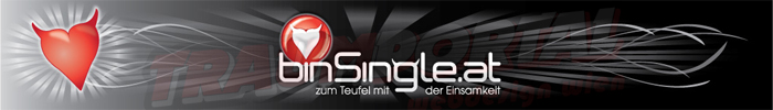Werbebanner für binSingle.at