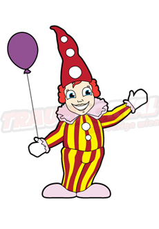 Prater Clown Ballon