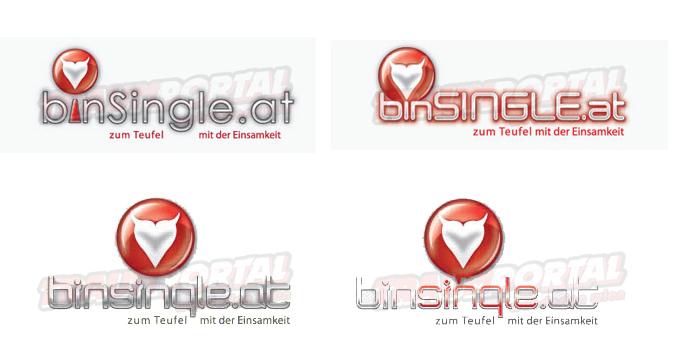 Logos für BinSingle.at