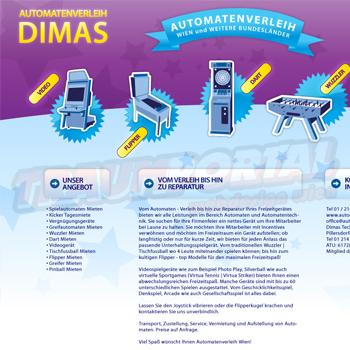 Automatenvermietung Dimas