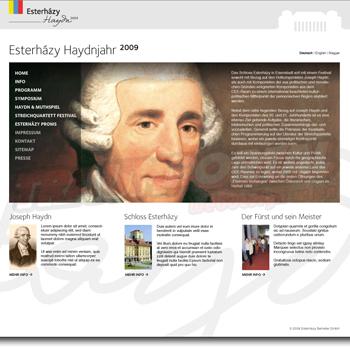 Esterhazy Webseite