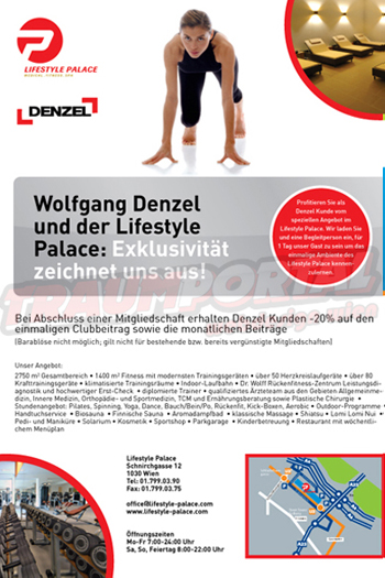 Flyer Traumportal Wien