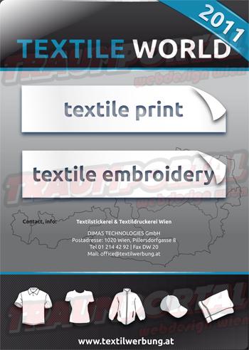 Cover Textilwerbung