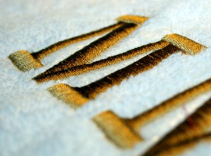 Textilstickerei Stickveredelung Bestickung