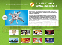 Illustrationen Webseite