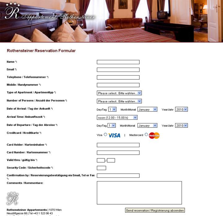 Kontaktformular mit SSL