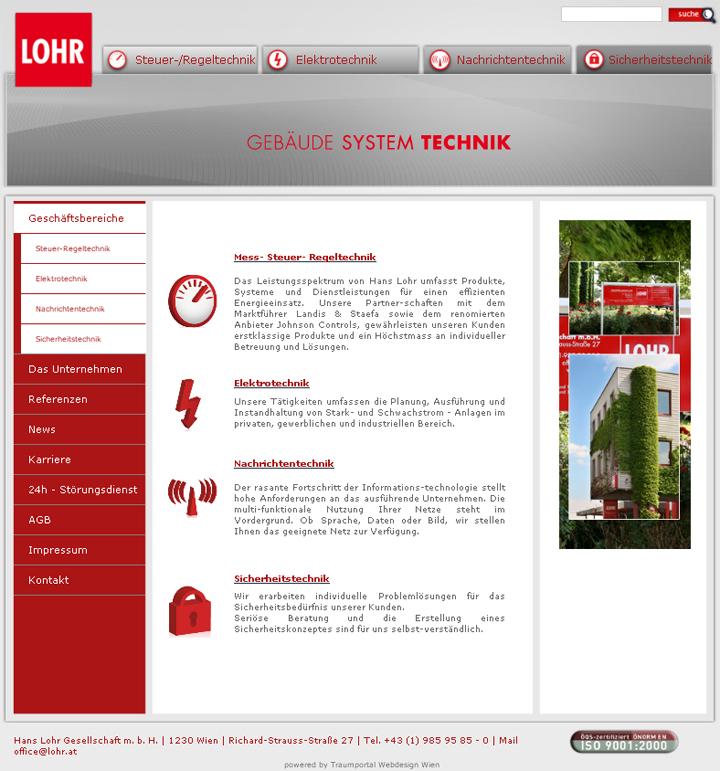 Lohr webseite | webdesign