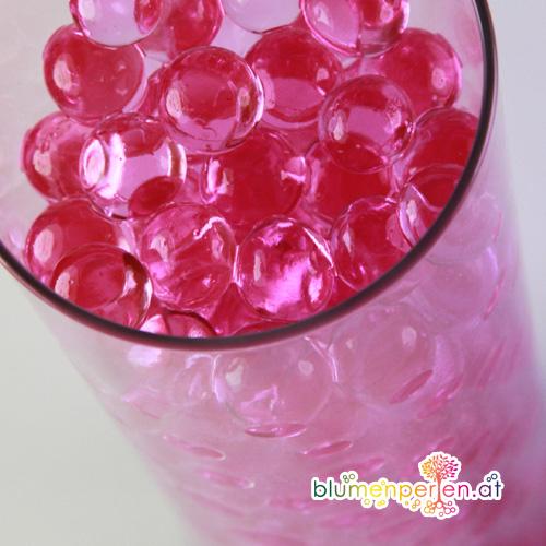 Glas Wasser Perlen