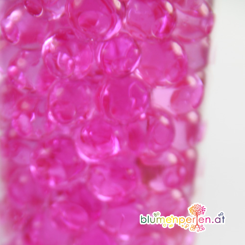 Pink Blumenperlen hell Kugel
