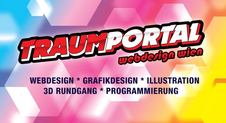 Traumportal Vorlage Header Design grafik