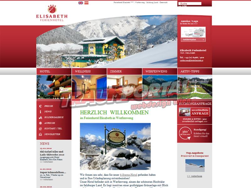 Hotelwebseite