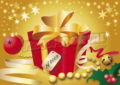 Geschenk Weihnachtskarte