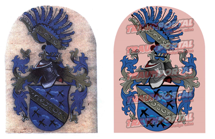 Wappen vektorisieren