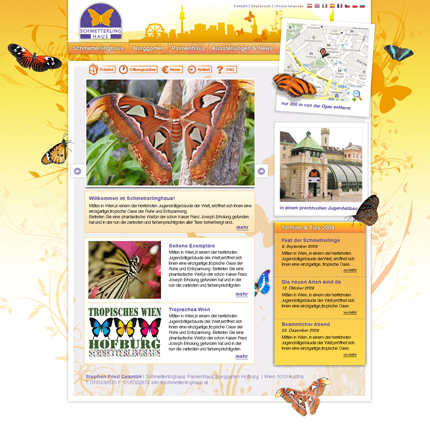 homepage schmetterling