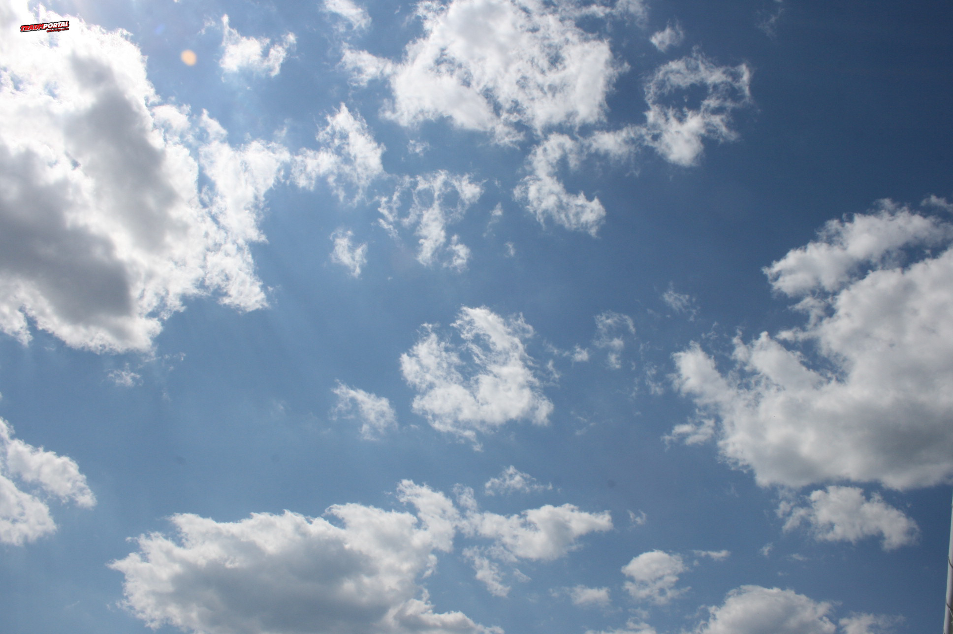 Blauer Himmel Wallpaper Blauer Himmel Hintergrundbild
