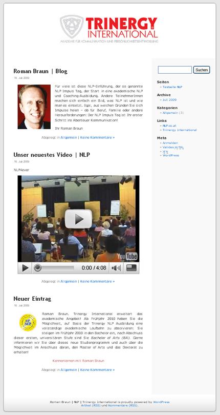 Blog Design Wordpress