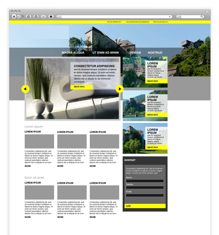 Design Homepage