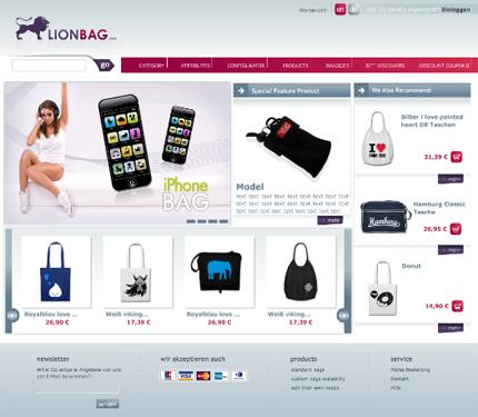 webshop_lionbag